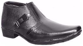 SIM STYLE Black School Shoes for boys