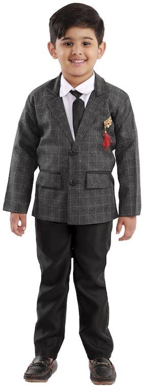 Fourfolds Boy's 3-Piece Suit