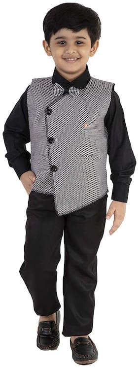 Fourfolds Ethnic Wear 3 Piece Suit Set .FC050