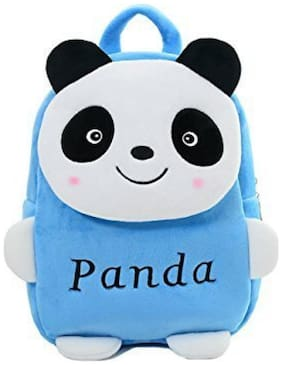 Frantic cute & Lovely Best Quality School Bag For Kids - Age 2 to 5 (Blue Panda)