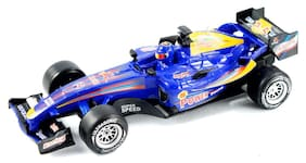 Max Friction Powered Racing Car - Blue