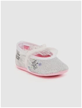 Frozen Silver Ballerinas For Infants