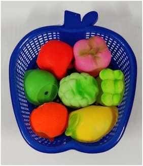 Kanchan Toys Fruit Basket Amazing Toy For Kids (Pack of 1 )