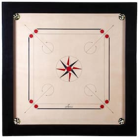 Full Size Carrom Board(Board Print May Differ Depends on Availability)