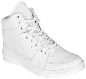 SIM STYLE White Boys & Unisex Kids Sport shoes