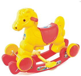 Fun Ride Red And Yellow Murphy  Rocker