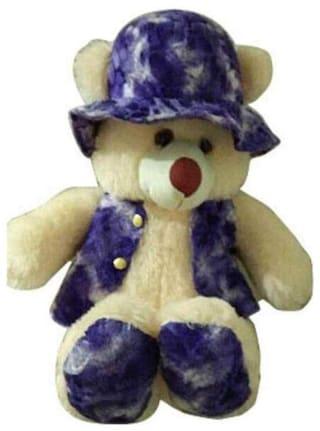 FUN RUN Cream Teddy Bear - 60 cm