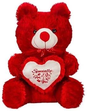 FUN RUN Red Teddy Bear - 60 cm