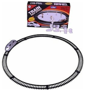 FUN RUN Baby Brand, Baby High Speed Metro Battery Operated Train With Round Track & Sign Boards For Your Kids FR-ET-295