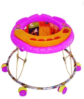 FUN RUN Baby Brand, Baby Beautiful Musical Walker With Light & Poem Song For Your Kids FR-BW-08