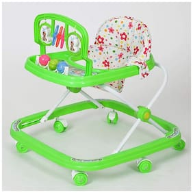FUN RUN Baby Brand, Baby Beautiful 2-in-1 Function Height Adjustable Musical Walker For Your Kids FR-BW-40