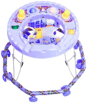 FUN RUN Baby Brand, Baby Beautiful 8 Wheels Grip Walker With Horn For Your Kids FR-BW-19