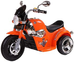 FUN RUN BABY BRAND, Baby Battery Operated Mini Bullet Super Look Bike Orange Color With Musical And Light For Your Kids FR-BOB-32