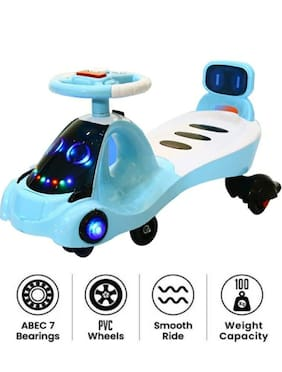 Fun Run Modern Magic Car Baby with Music Seat Kids Ride on Push car Toys-Twist and Swing Magic Car for Kids Babies Suitable Age 2 Years and Up Boys and Girl