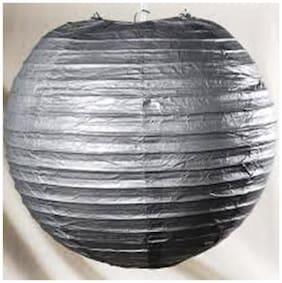 Funcart 12'' Silver paper lantern