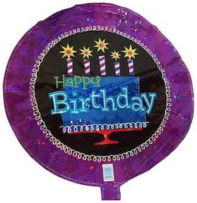 Funcart 18'' Happy Birthday foil Ballon