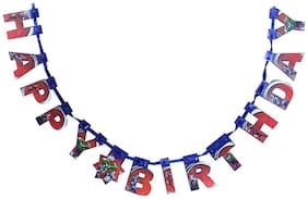 Funcart Avenger Happy Birthday Die-Cut Banner