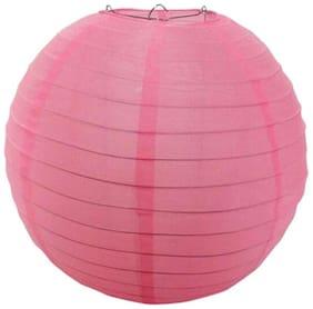 Funcart Baby Pink Silk Lantern 12''