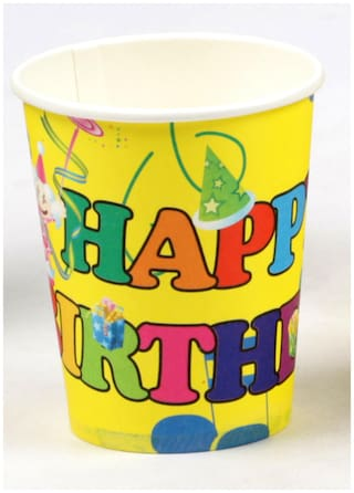 Funcart Balloons Theme Paper Cup