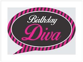 Funcart Birthday Diva Party photo board