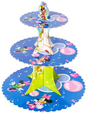 Funcart Blue Minnie Mouse Cupcake Stand