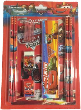 Funcart Car Stationery Set With Pencil Cap