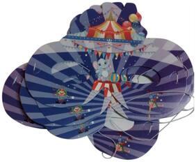 Funcart Carnival Theme paper eye masks