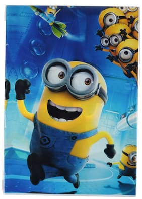 Funcart Despicable 2 Theme 2 In 1 Plastic Cover Sheet