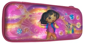 Funcart Dora the explorer 5D print high quality pencil box