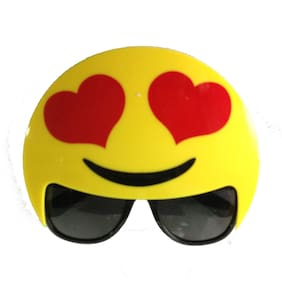Funcart Emoji Heart Eye Sunglasses (1pcs/pack)