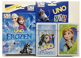 Funcart Frozen Uno playing cards for kids