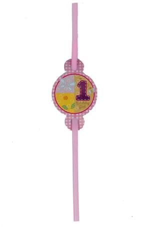 Funcart Fun At Girl Theme Drinking Straws