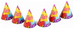 Funcart Fun & Frolic Party Theme Party C Caps
