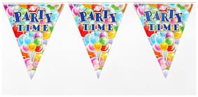 Funcart Funcart Party Time Flag Banner