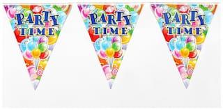 Funcart Funcart Party Time Flag Banner