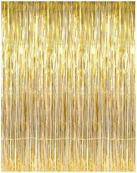 Funcart Golden Foil Curtain