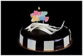 Funcart Happy Birthday Glitter Candle