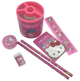 Funcart Hello Kitty Theme Stationery Stand (6 Items /Pack)