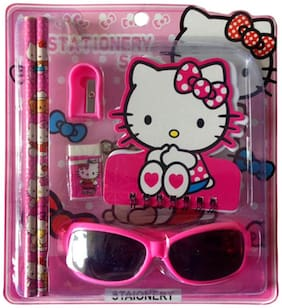 Funcart Hello Kitty Goggles Stationery Set (pack of 6)