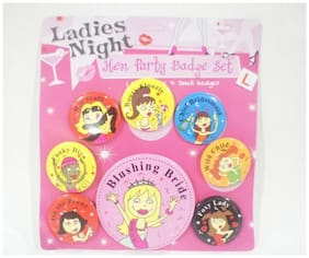 Funcart Hen Night Badges