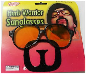 Funcart Herb Warrior Sunglasses With Moustache