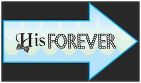 Funcart His Forever photo booth board