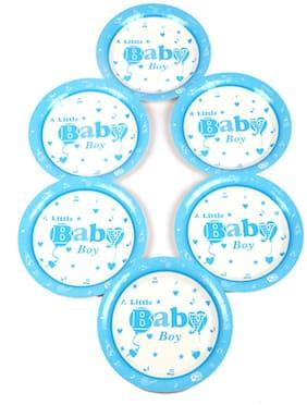 Funcart Little Baby Boy Theme Paper Plate