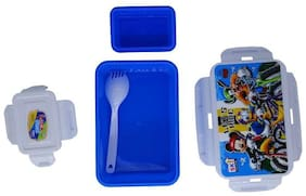 Funcart Mickey Mouse & Friends Let Ride Lunch Box  (size 550 ml)