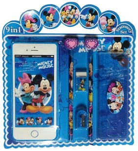 Funcart Mickey & Friends Iphone shape notebook Stationery Set (pack of 6)