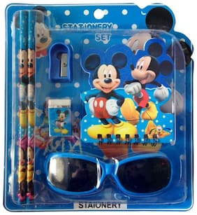 Funcart Mickey Mouse Goggles Stationery Set (pack of 6)