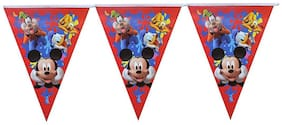 Funcart Mickey club house flag banner material:paper size:2M (pack of 1pcs