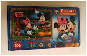 Funcart Mickey mouse theme puzzle set