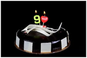 Funcart Number 9 Pick Style Candle