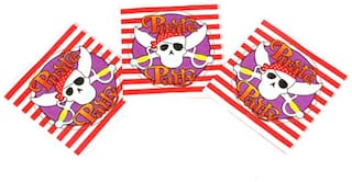 Funcart Pirate Funcart Party Theme Napkins (Pack Of 9)